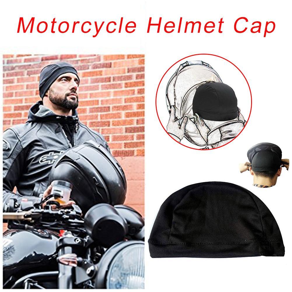 Велосипедная шляпа мотоциклетный шлем внутренняя Кепка быстросохнущая дышащая шапка велосипедная гоночная Кепка Под Шлем шапочка для шле...