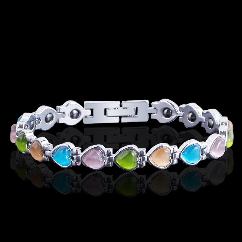 hand ornament with a new type of fast-selling and hot-selling magnetic health care bracelet from Europe America