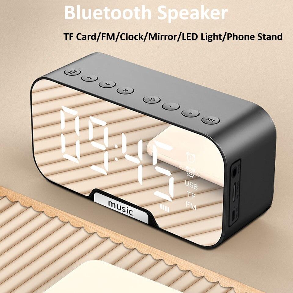 Altavoz Bluetooth, despertador y radio por 11 € (30% desc)