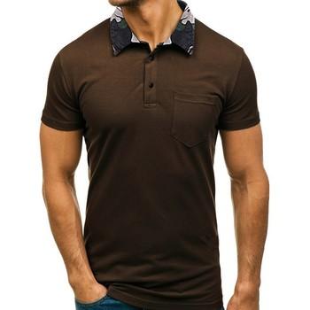 Wysokiej jakości męska koszulka Polo męskie koszulki Polo z krótkim rękawem kamuflaż Camisa polo Masculina Casual duża ilość Polo mężczyzn tanie i dobre opinie feitong CN (pochodzenie) REGULAR Na co dzień NONE Camouflage Collar Poliester Oddychające Kontrast kolorów