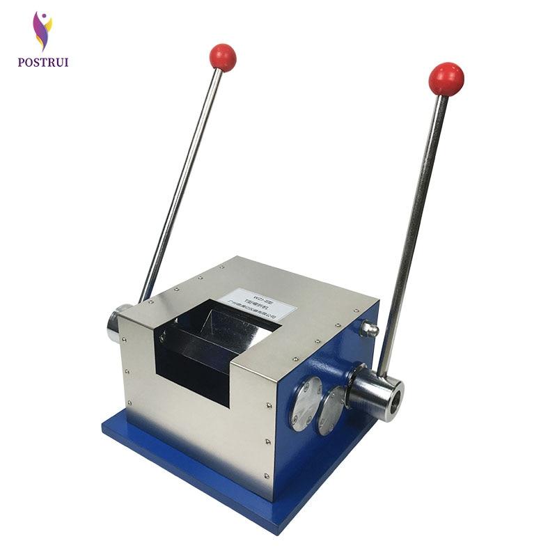 Ручной Т-гибочный станок WZJ-II Т-гибочный тестер машина оборудование тест покрытый Т-гибочный тестер стального ремня