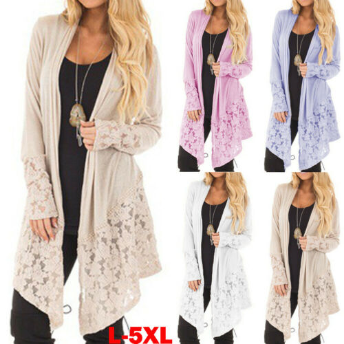 New Casual Knitted Long Cardigan Female Loose Cardigan Knitted Jumper Warm Winter Solid Sweater Women Cardigan Coat