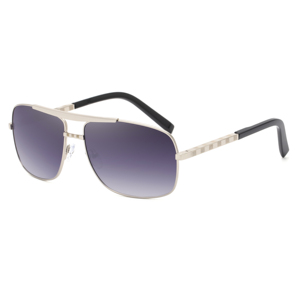 Image 4 - Очки солнцезащитные мужские квадратные, винтажные брендовые дизайнерские солнечные очки в стиле ретро, 2020