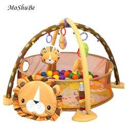Multifuncional Jogo Do Bebê Ginásio Jogar Mat Escalada Mat Rack de Aptidão Brinquedos Educativos Infantis Cobertor Tapete Bola Pit Piscina Atividade