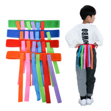 Тянущий хвост детский сад спортивная игрушка для игр на открытом воздухе игра игрушка сенсорная интеграция обучающая игрушка-хвостик повязка ткань