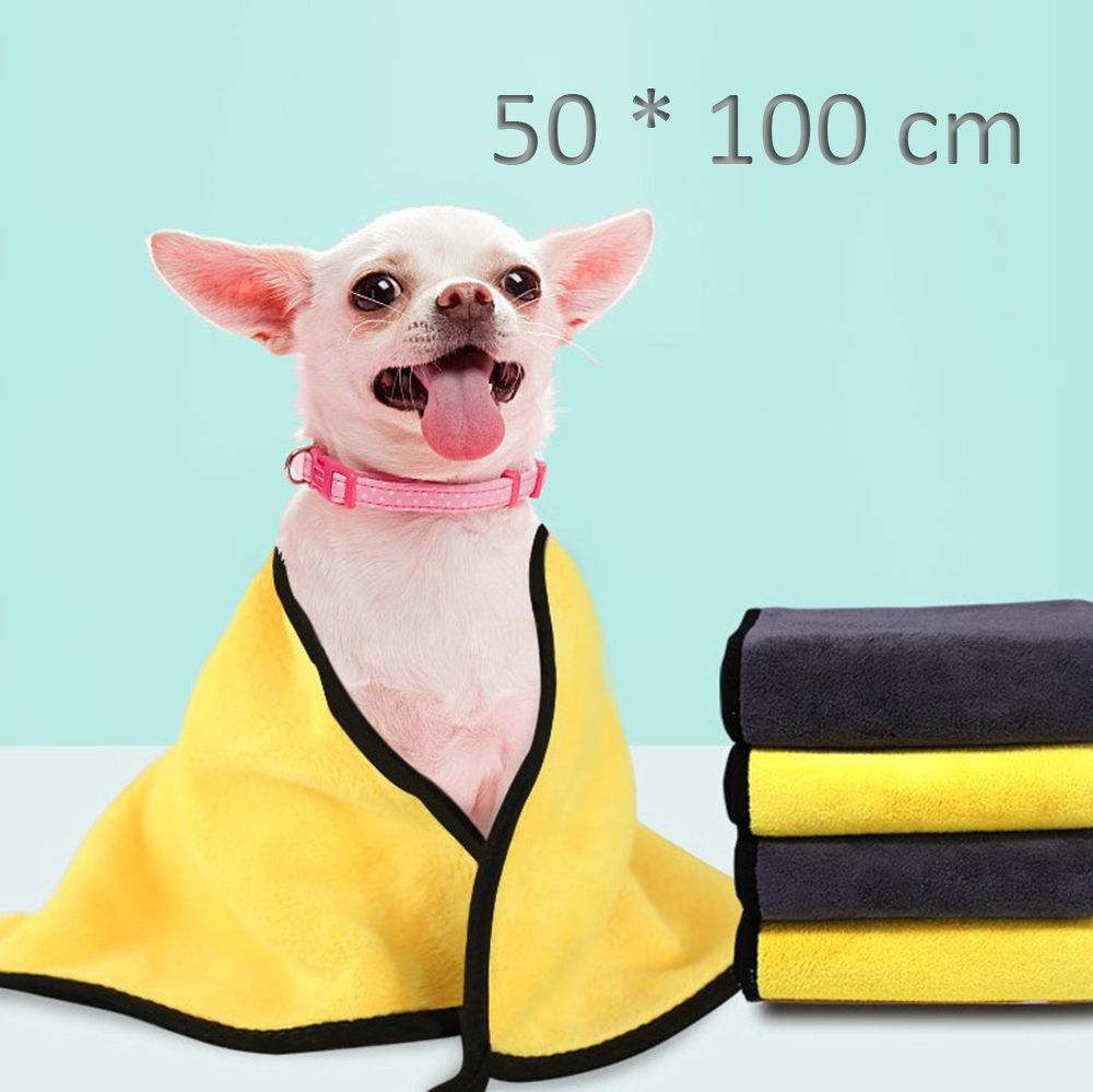 Cute Pet Dog Cat Towel Pets Drying Bath Towels with Hoodies Warm Blanket Soft Drying Cartoon Puppy Super Absorbent Bathrobes 19