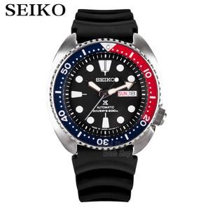 Image 1 - 세이코 시계 남자 5 자동 시계 톱 브랜드 럭셔리 방수 스포츠 기계식 손목 시계 다이빙 남자 시계 relogio masculino