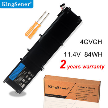 KingSener New 4GVGH Laptop Battery for DELL Precision 5510 XPS 15 9550 series 1P6KD T453X 11.4V 84WH 14 8v 58wh new original laptop battery for dell xps l511z l511x l412z 14z 15z series v79yo v79y0