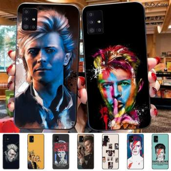 David Bowie Phone Case For Samsung Galaxy A7 8 2018 6 8 Plus A9 2018 A10 20 30 40 50 70 image