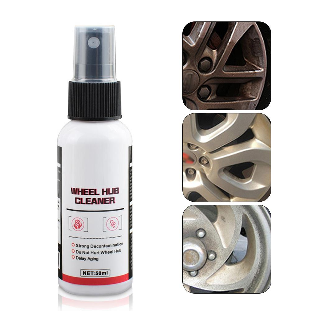 Car Motorcycle Universal Wheel Cleaner Spray Powerfully Remove Stains UV Rim Care Rust Removal Car Wheel Clean Car Accessories