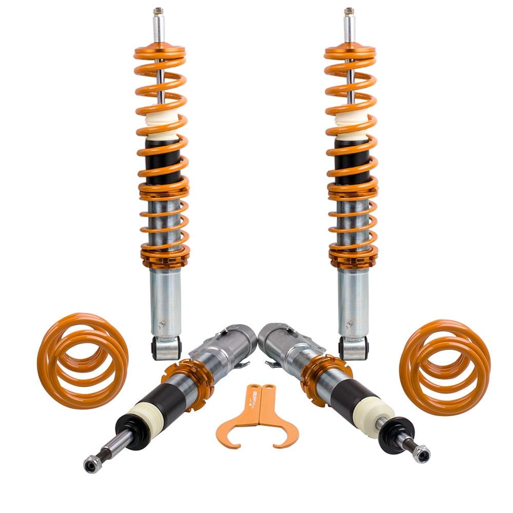 Ayarlanabilir spor coilover süspansiyon İndirme kiti VW POLO için 6N2
