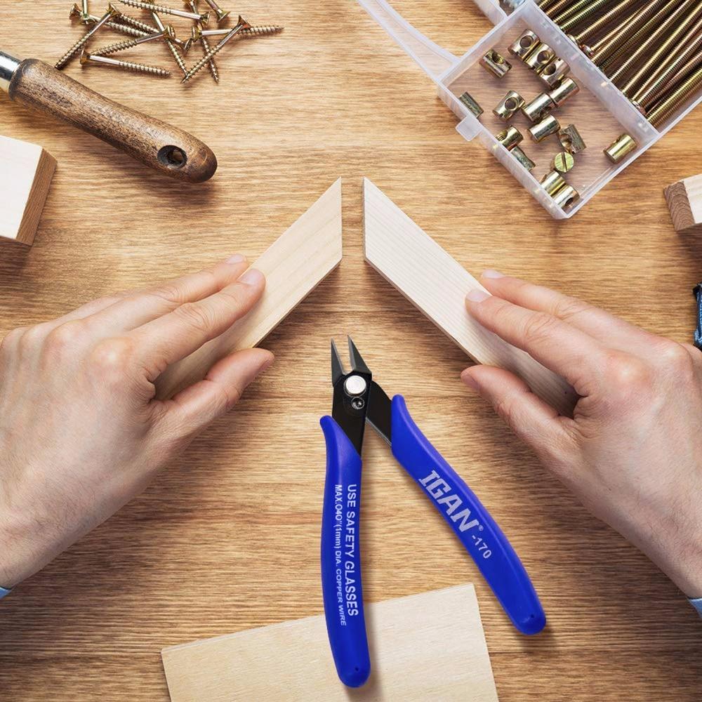Детали для 3D-принтера Plato. PLATO 170 Американский желаемый зажим DIY Электронные диагональные плоскогубцы боковые режущие кусачки проволочный резак