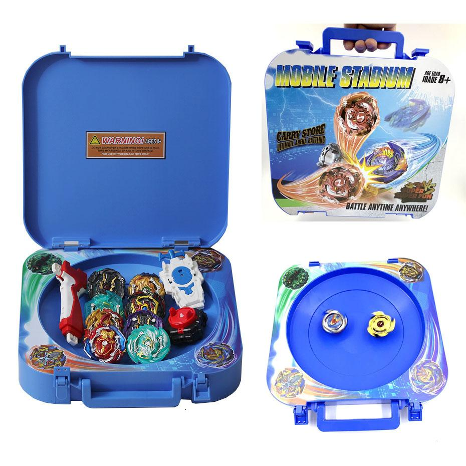 B150 <font><b>Beyblade</b></font> Burst Set Toy Beyblades Arena <font><b>Beyblade</b></font> Metal Fusion Battle Gyro Belt Launcher Rotating Top Bey Blade Blade Toy image