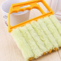 Fenster Blind Reiniger Duster Pinsel Werkzeug Klimaanlage Duster Schmutz Reiniger Hausarbeit Werkzeug für Reinigung (6/Pack)-in Reinigungsbürsten aus Heim und Garten bei