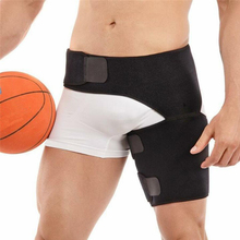 Adjustable Groin Support Men Women Compression Sport Thigh Waist Wrap Strap Hip Stability Brace Protector
