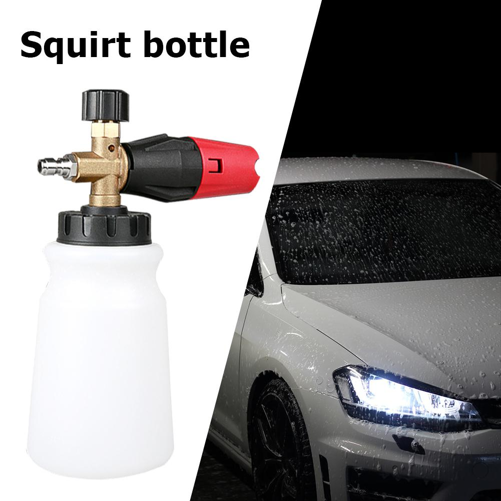 Foam Gun 1/4 Quick Connector High Pressure Washer Snow Foam Jet Bottle 800ml Soap Foam Generator Foamer Sprayer Car Foam Gun