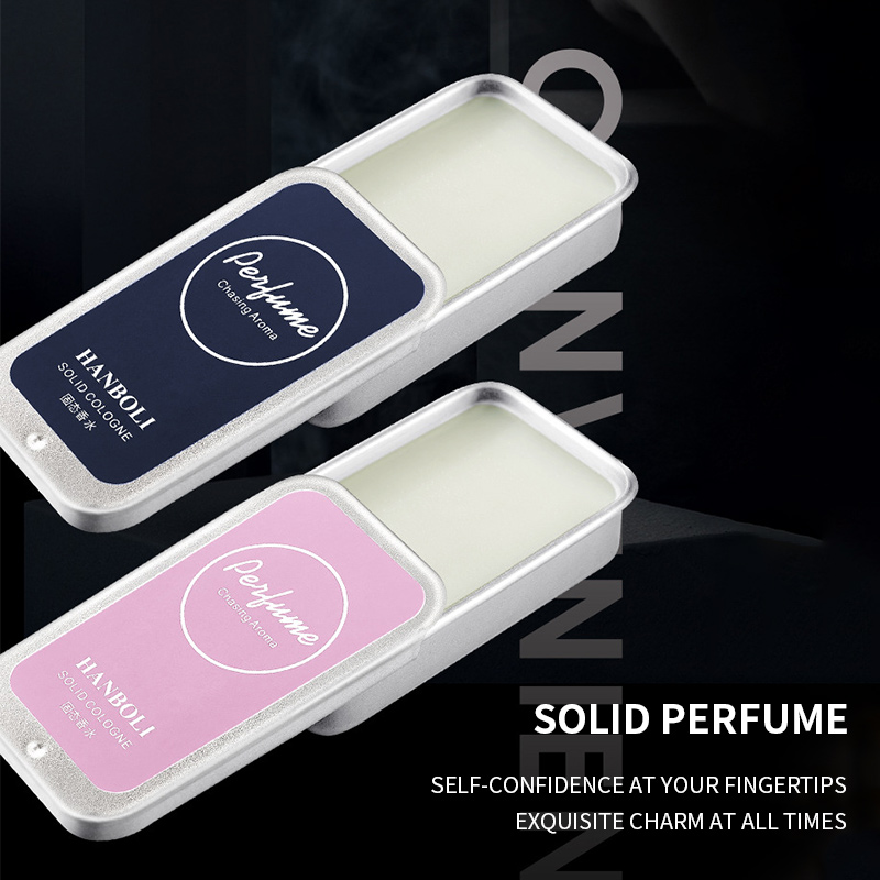 New Solid Perfume Lasting Fragrance Light Fragrance Male And Female Students Portable Balm Long-Skin Fragrance Body Lasting