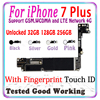 "Factory unlocked for iphone 7 Plus 5.5"" Motherboard With Touch ID for iphone 7 Plus 7Plus Main Logic board with chips IOS System"