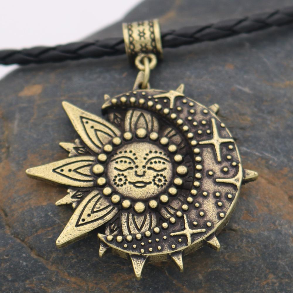 Leather Chain Bronze