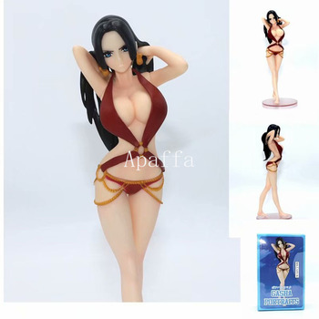 18cm One Piece Swimsuit Boa Hancock Action Figure Nami Nefeltari Vivi PVC Model Toys Christmas GIFT 1