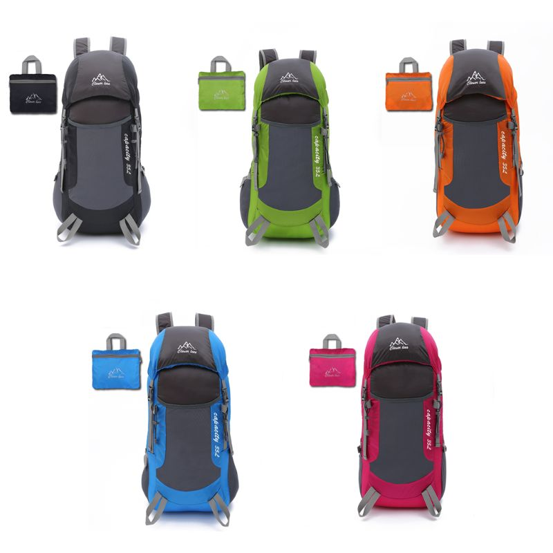 Lightweight Waterproof Packable Travel Hiking Backpack Dayback Foldable Camping for Men and Women in School Bags from Luggage Bags