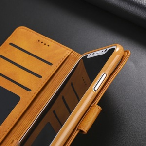Image 5 - יוקרה עור Flip ארנק מקרה טלפון עבור iPhone Xr X Xs 11 פרו מקסימום עמיד הלם רך כיסוי עבור 7 בתוספת 8 6S 6 5 5S SE 2020 12 מיני