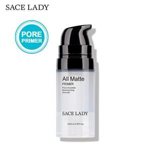 SACE LADY Face Base Primer Makeup Liquid Matte Make Up Fine Lines Oil-control Facial Cream Brighten Foundation Primer Cosmetic(China)