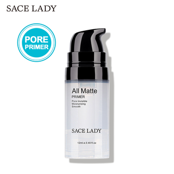 SACE LADY Face Primer Makeup Liquid Matte Base Make Up Oil-control Smooth Fine Lines Pore Cream Brighten Cosmetic Wholesale laikou primer makeup base concealer 40ml face brighten cream oil control professional make up pores brand foundation cosmetic