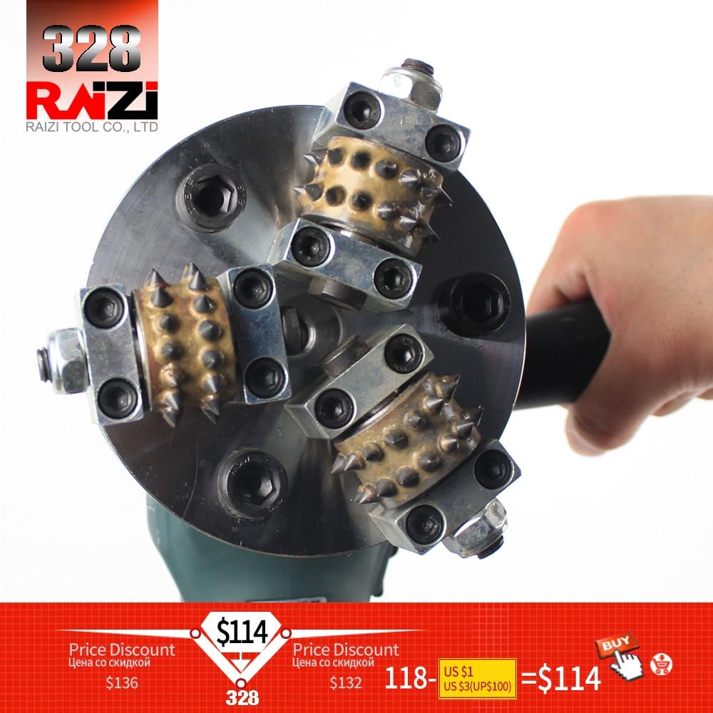 Raizi 5 Inch/125 Mm Bush Hammer Plate For Angle Grinder Granite Marble Stone Hammer Grinding Wheel