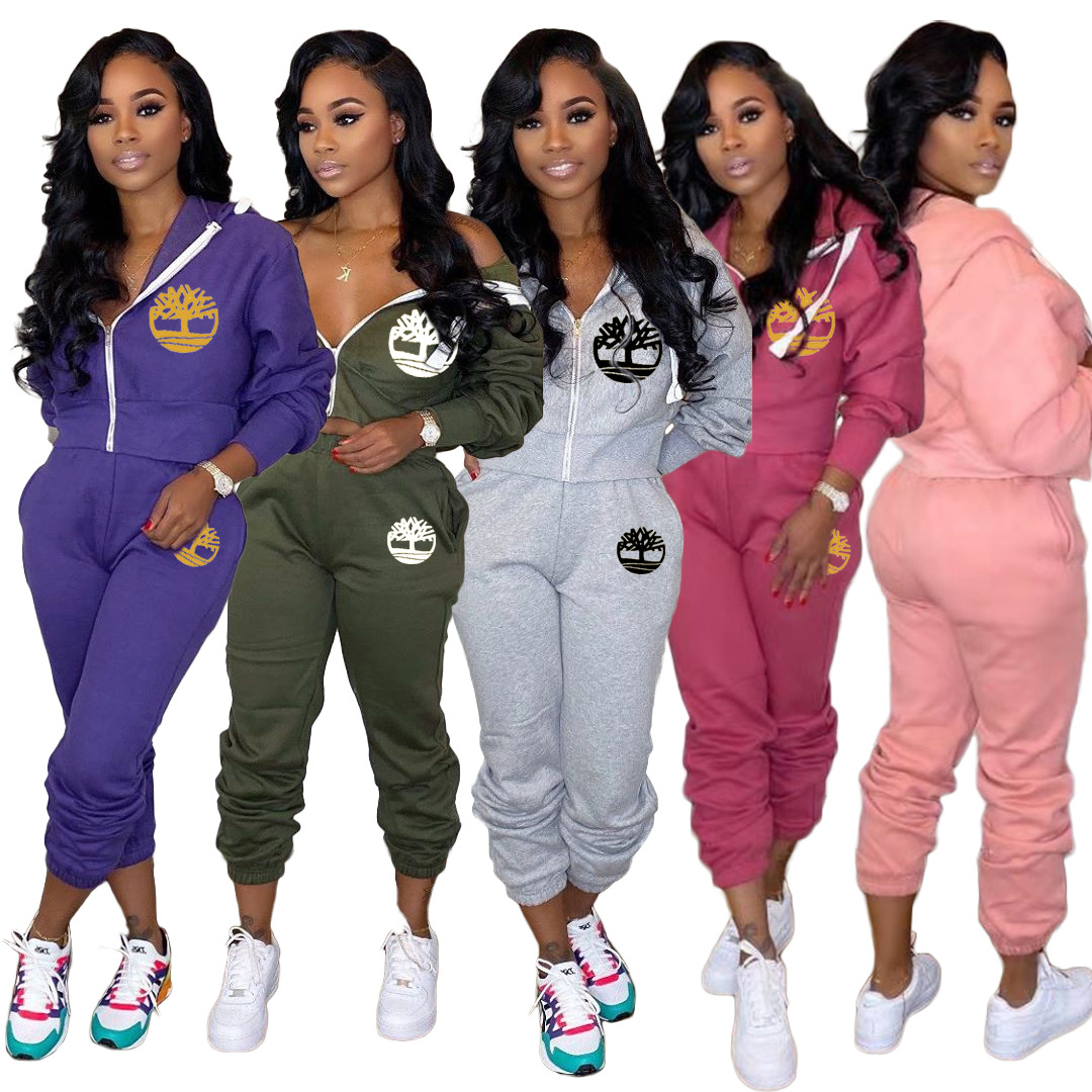 Plus Size 2 TWO PIECE SET Women Clothing Joggers Top + Pants Tracksuit Track Suits Embroidered Sweatsuits Jogging Femme Outfits