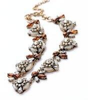 Necklace Pendant Vintage Flower Women's