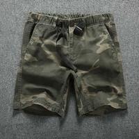 Camouflage Loose Cargo Shorts Men 2020 Summer Military Camo Short Pants Homme Cargo Shorts