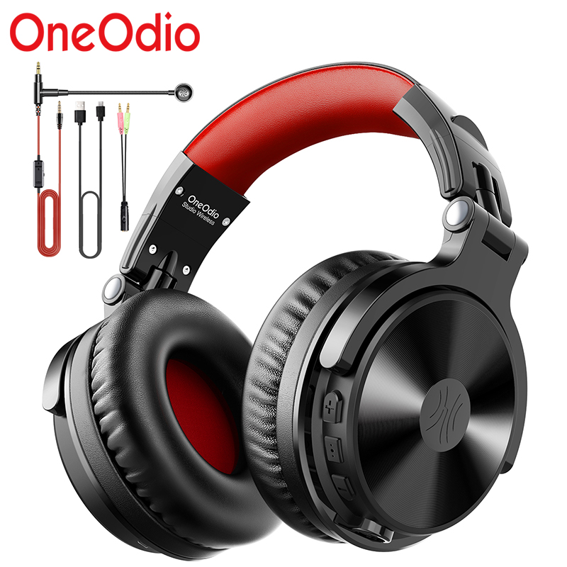 OneOdio nowy Bluetooth5.0 gamingowy zestaw słuchawkowy słuchawki bezprzewodowe z rozszerzonym mikrofonem do połączenia centralnego słuchawki z Bluetooth na konsolę Xbox itp.