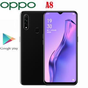 Official New Original Oppo A8 Cell Phone Octa Core 2.3GHz MTK6765 4G RAM 128G ROM 12MP Camera 4230Mah 6.5inch LCD 1600x720P