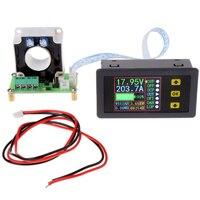 Medidor bidirecional multifuncional do monitor de potência do amperímetro do voltímetro da c.c. 0-90v 0-100a do sensor do salão