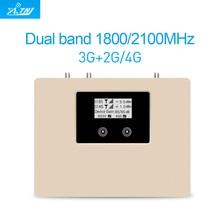 הצעה מיוחדת! חכם DUAL BAND 2G3G4G 1800/2100 נייד אותות בוסטרים משחזר מגבר נייד רק מכשיר + מתאם