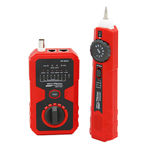 Network monitoring cable tester LCD NF-308A Wire Fault Locator LAN Network Coacial BNC USB RJ45 RJ11 red color free shipping noaya nf 822 new coming underground wire locator