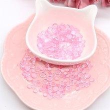 Kscraft 350 pçs rosa simulação dewdrop gotas de água pedras para diy papel ofício cartão fazer decoração acessórios scrapbooking