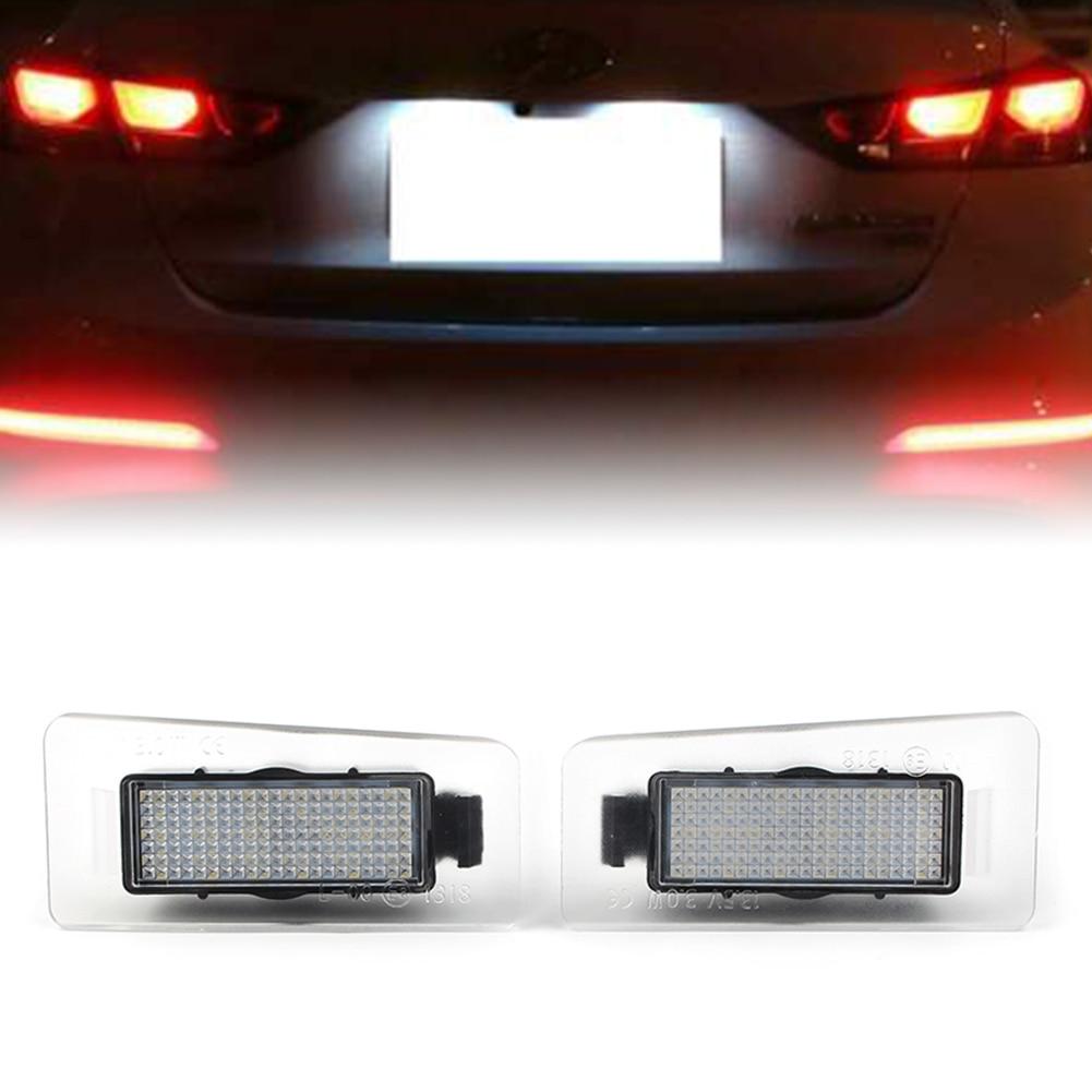 Luz LED trasera para matrícula de coche, lámpara blanca trasera, para Hyundai I30 Elantra, 6500-2011, 2013, 1 par, 18 uds.