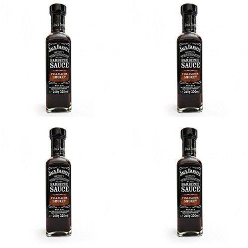 Jack Daniels Angebot 4Saucen Grill Flavour Smokey Geräuchert Intenso 260gr S 260gr
