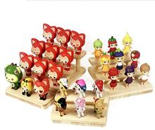 2/3/4 Layers wooden puppet toy Display Stand Eyeglasses Showing Rack Jewelry Holder Bracelet Tray Watch cosmetics Shelf