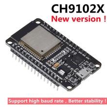 New version!ESP32 Development Board CH9102X WiFi+Bluetooth Ultra-Low Power Consumption Dual Core ESP-32 ESP-32S Similar