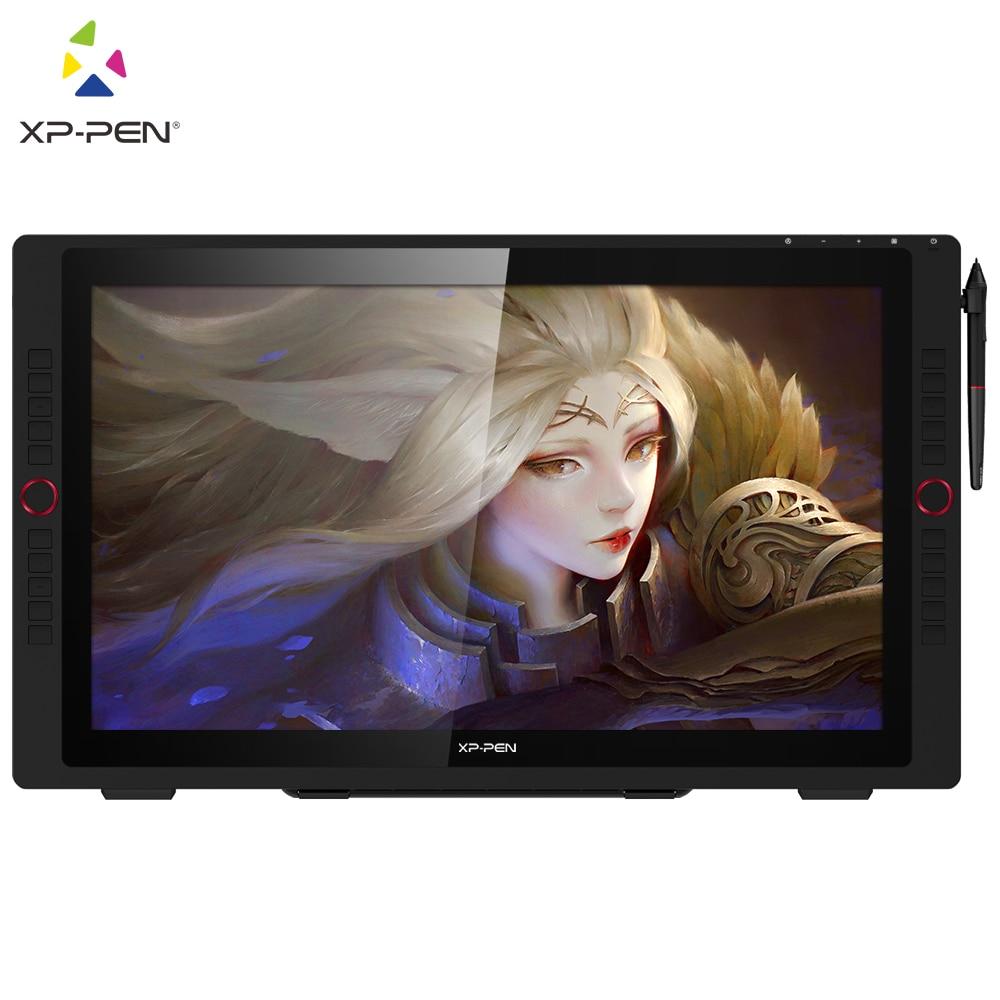 XP-Pen Artist 24 Pro 23.8 inch Drawing Graphics Tablet Pen Display Monitor 8192 Pen Pressure 2K QHD Tilt-Support Battery-Free