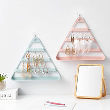 New Design Fashion Women Jewelry Creative Cute Necklace Triangle Jewelry Display Stand Earrings Bracelet Hanger Gift for women(China)
