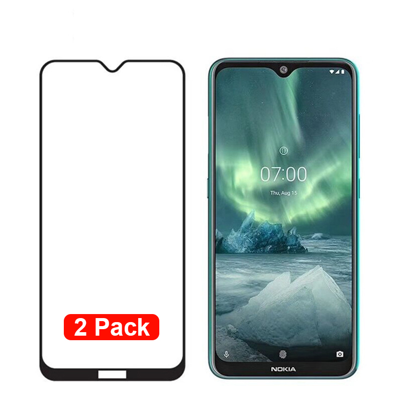 For <font><b>Nokia</b></font> <font><b>7.2</b></font> Tempered Glass Full Cover <font><b>Screen</b></font> <font><b>Protector</b></font> For <font><b>Nokia</b></font> 6.2 Protective Film Armored Glass image