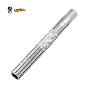 HONEYPUFF Sniffer Aluminum Pen Style Snuff Snorter Dispenser Metal Sunff Snorter Hose Tube Smoke Pipe Accessories