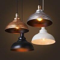 Kreatywny LED z kutego żelaza pojedynczy dzbanek wisiorek światła styl industrialny retro restauracja w stylu sklep kawiarnia gorący kociołek sklep Bar lampy wiszące w Wiszące lampki od Lampy i oświetlenie na