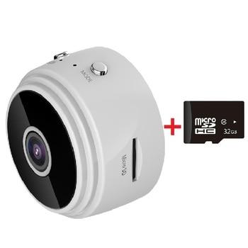 1080 Wifi Mini Camera Wireless IP Wide Angle Camera Home Security Cam DVR Night Sight Network Monitor Miniature Camera Camcorder 8