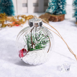 Christmas 2019 Home Decorations Cherry Decoration Ball DIY Christmas Tree Hangings Deco Noel Bois Kerst Natale Dropshipping # 5