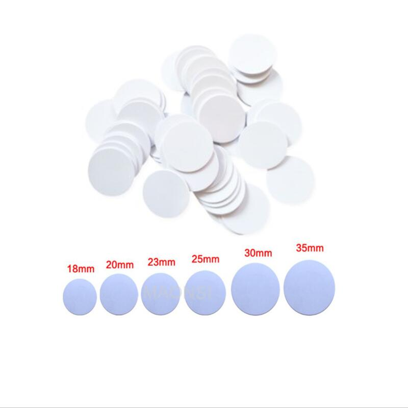 Plastic RFID Token Tag RFID 125KHz EM4305 T5577 Sticker Keytag Card Writable Key Token Tag Access Card Duplicate Clone Tag